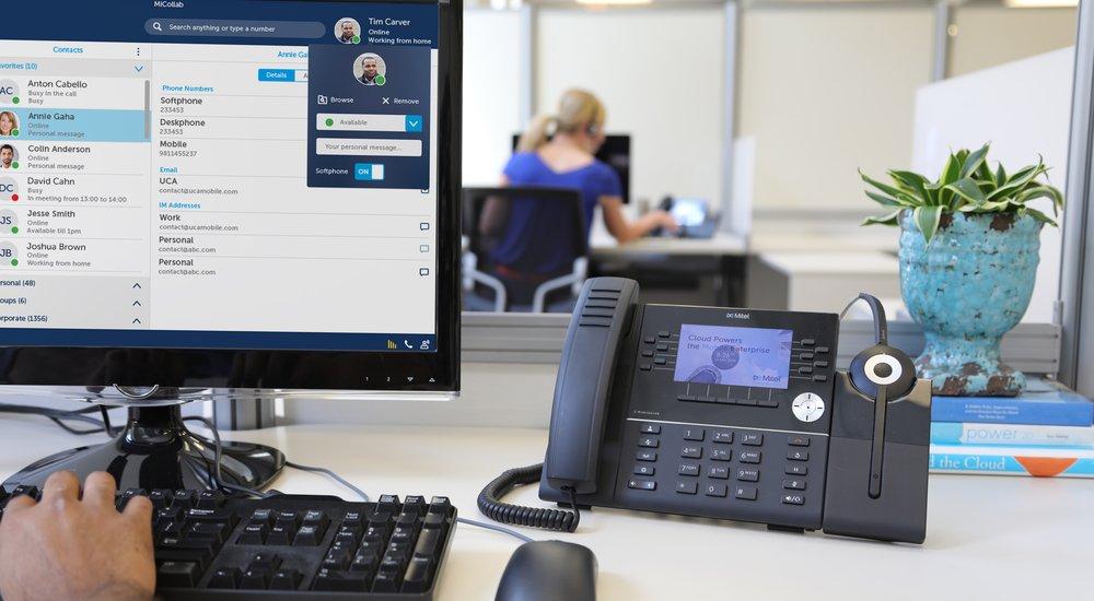 NOW Cloud Communication Mitel Software