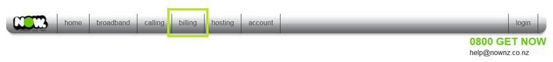 Customer portal - Billing