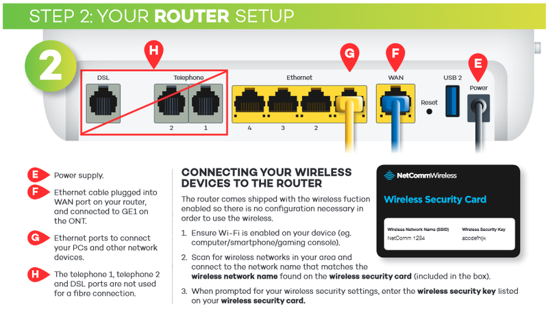 How do I connect my router part3