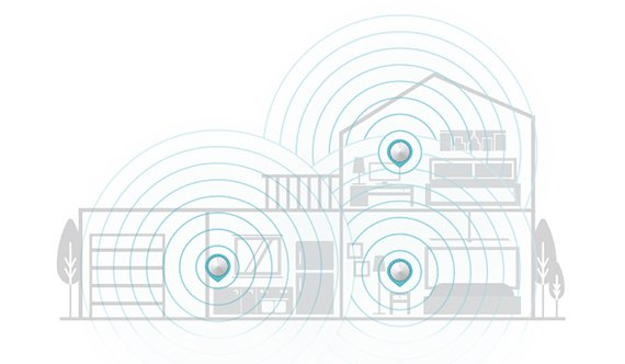 Whole Home Wifi Diagram