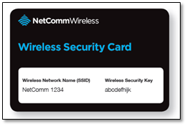 NOW Netcomm Wireless Card